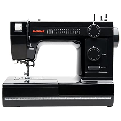 Amazon Janome IndustrialGrade AluminumBody HD40 Black Inspiration Buttonhole Sewing Machine