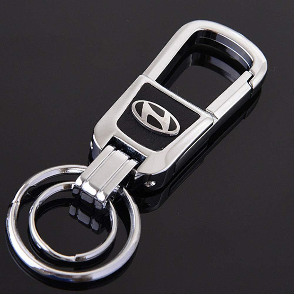 JINYIJUN Mazda, Ford, Hyundai, Llavero de Coche Premium ...