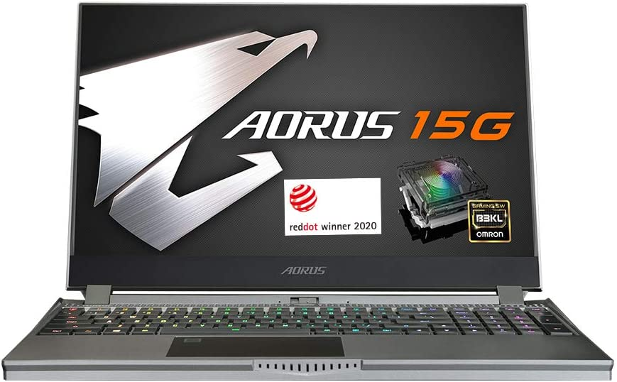 [2020] AORUS 15G (YB) Performance Gaming Laptop, 15.6-inch FHD 240Hz IPS, GeForce RTX 2080 Super Max-Q, 10th Gen Intel i9-10980HK, 32GB DDR4, 512GB NVMe SSD