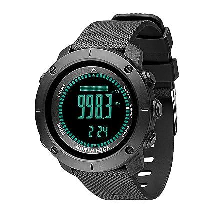 Reloj Deportivo Digital para Hombre Horas Deportes al Aire Libre Impermeables para Correr Natación Multifuncional Relojes