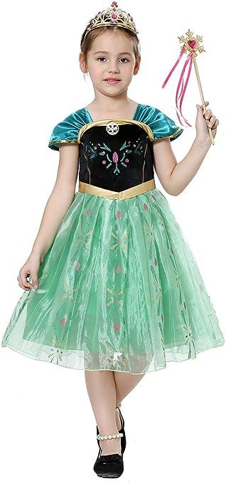 Pretty Princess Disfraces Princesa Vestido niña Trajes de Fiesta ...