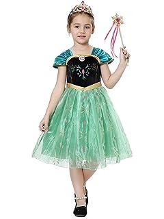 Pretty Princess Disfraces Princesa Vestido niña Trajes de ...
