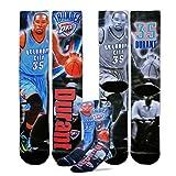 Oklahoma City Thunder NBA Drive Crew Socks - Kevin Durant