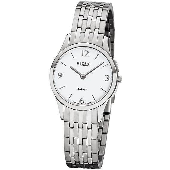 Regent Reloj mujer acero inoxidable alemania Collection gm1615: Amazon.es: Relojes