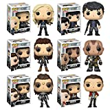 Pop! TV: The 100 Clarke Griffin, Bellamy Blake, Octavia Blake, Lexa, Lincoln, Raven Vinyl Figures Set of 6
