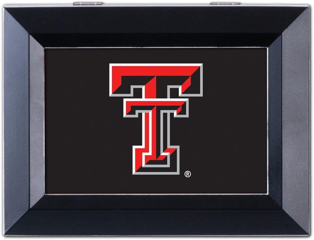 100%安い Collegiate TT Music Collegiate Jewellery Box Finish: Distressed - Black, NCAA Team: Texas Tech University - TT Logo B00BRX4YIS, 健康応援団:10d4c0d8 --- arcego.dominiotemporario.com