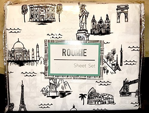 roomie Seven Wonders of The World Sheet Set - Full Size