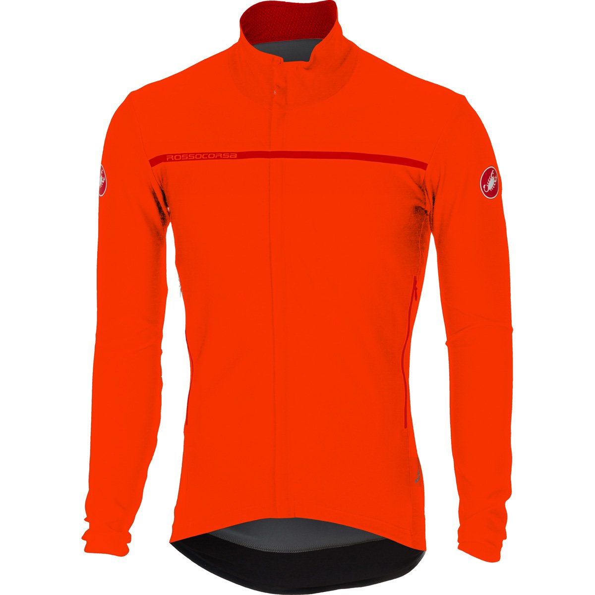 Castelli 2016 / 17メンズPerfetto長袖サイクリングジャケット – b16507 B075FGC65Y XL|オレンジ オレンジ XL