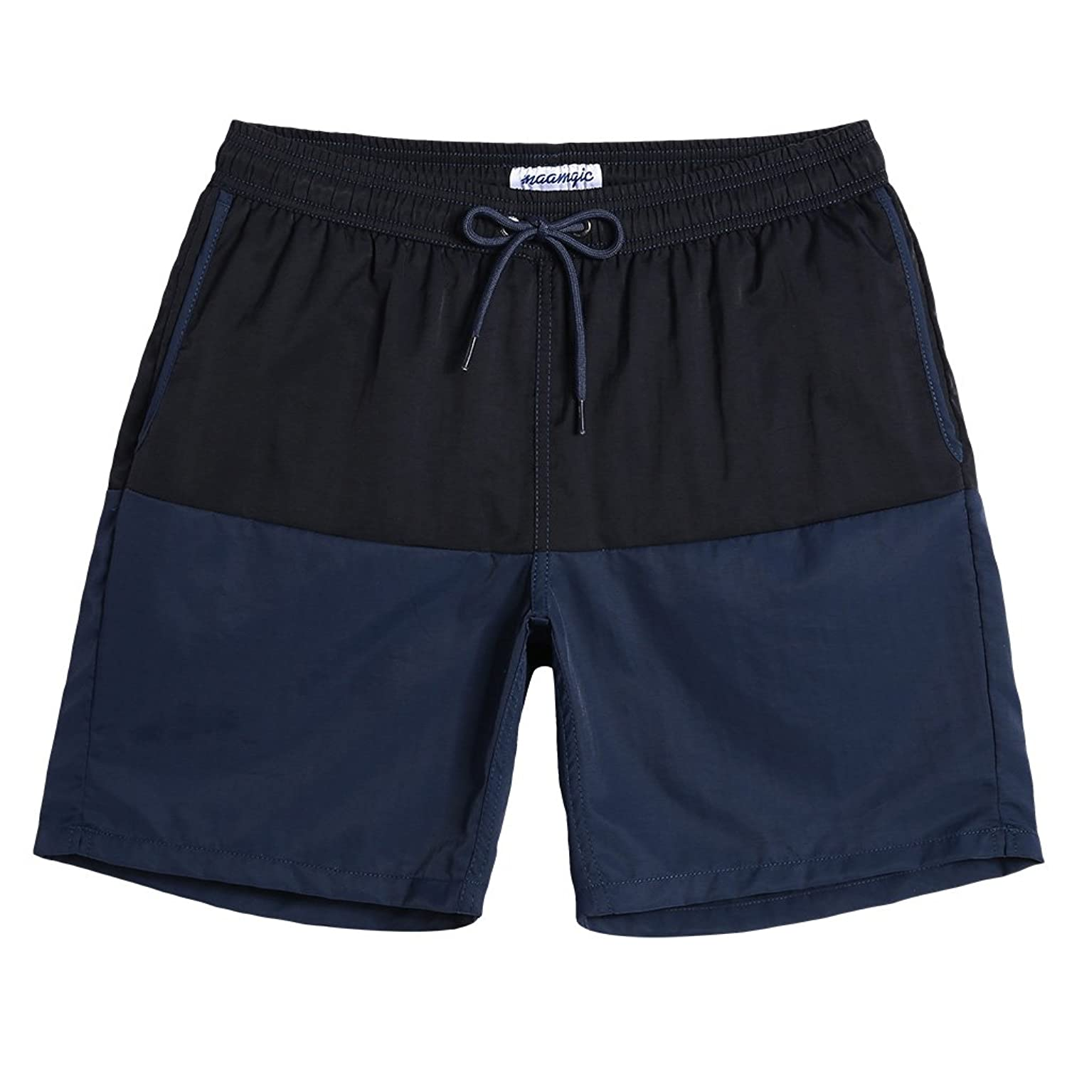 831a0cb750 Swim Trunks Men Short: This Short Get 6 Inch Inseam, It Is Short And Above  Your Knee. Fit Perfect With Your Body. Men's Swim Trunks With Mesh Liner:  This ...