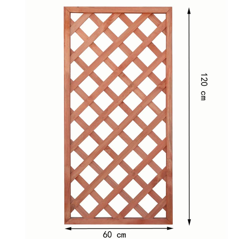 JIANFEI 木製 ボーダーフェンスフラワーベッドエッジデコレーション 植物保護 炭化 防食プロセス 、3色 、3サイズ (色 : A, サイズ さいず : 60x120cm) 60x120cm A B07SCZW54C