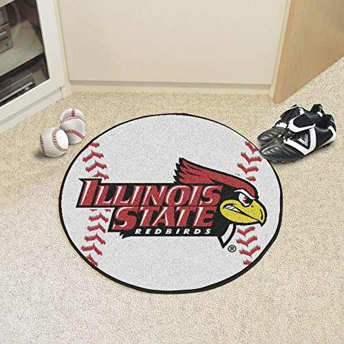 Illinois State Red Birds Baseball - Illinois State Baseball Mat 27