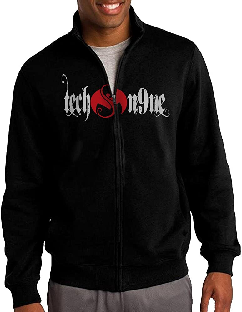 Full-Zip Fleece Jacket L Black Candy Melody Mens Tech N9ne Number 9 3