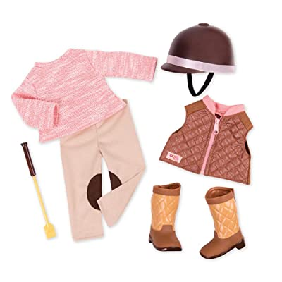 """Our Generation Deluxe 18"""" Riding Outfit: Toys & Games"""