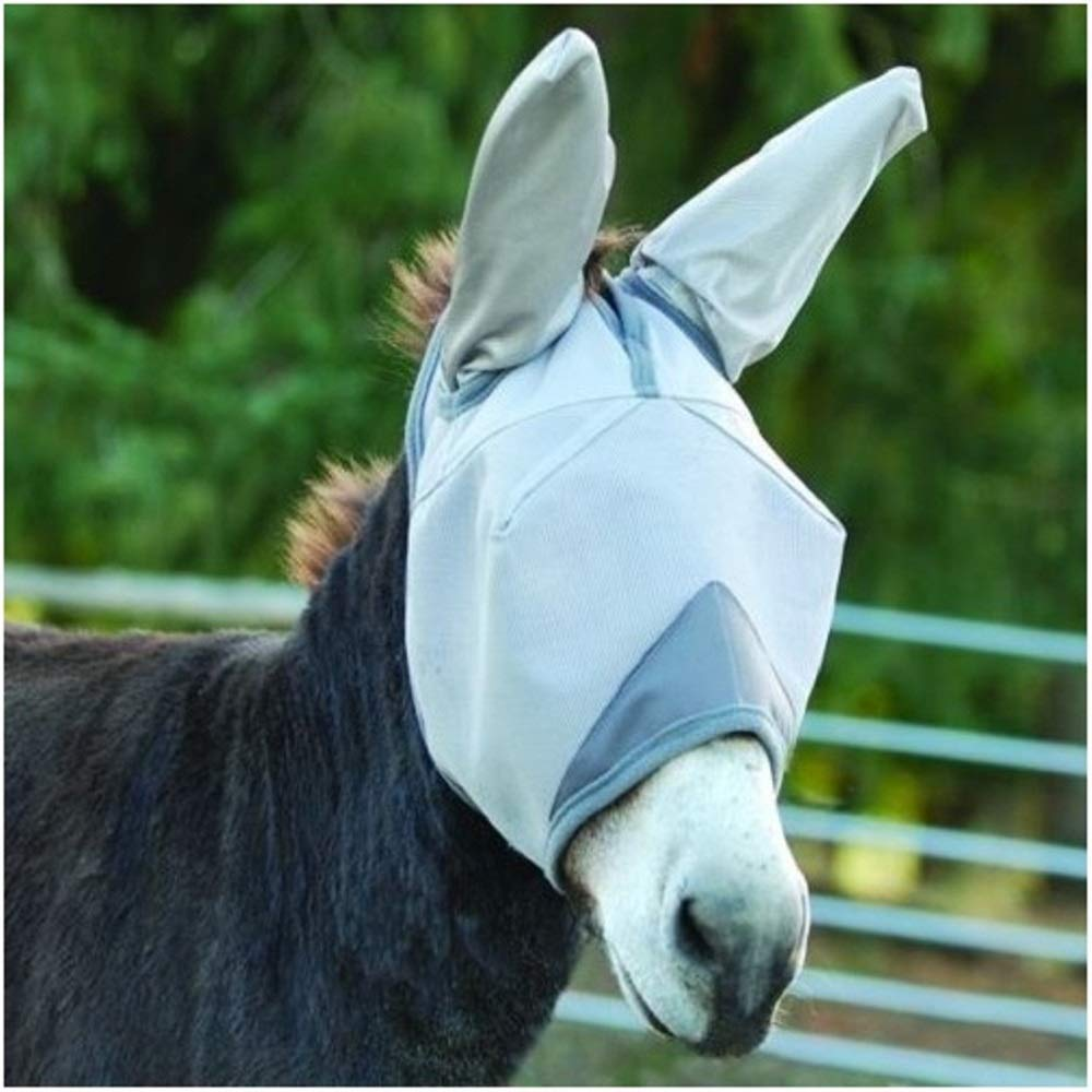Crusader Fly Mask Standard Nose with Ears (Mule Weanling) by Cashel