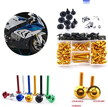 For BMW F800GT 2013 2014 2015 2016 Complete Fairing Bolt Screws Kit