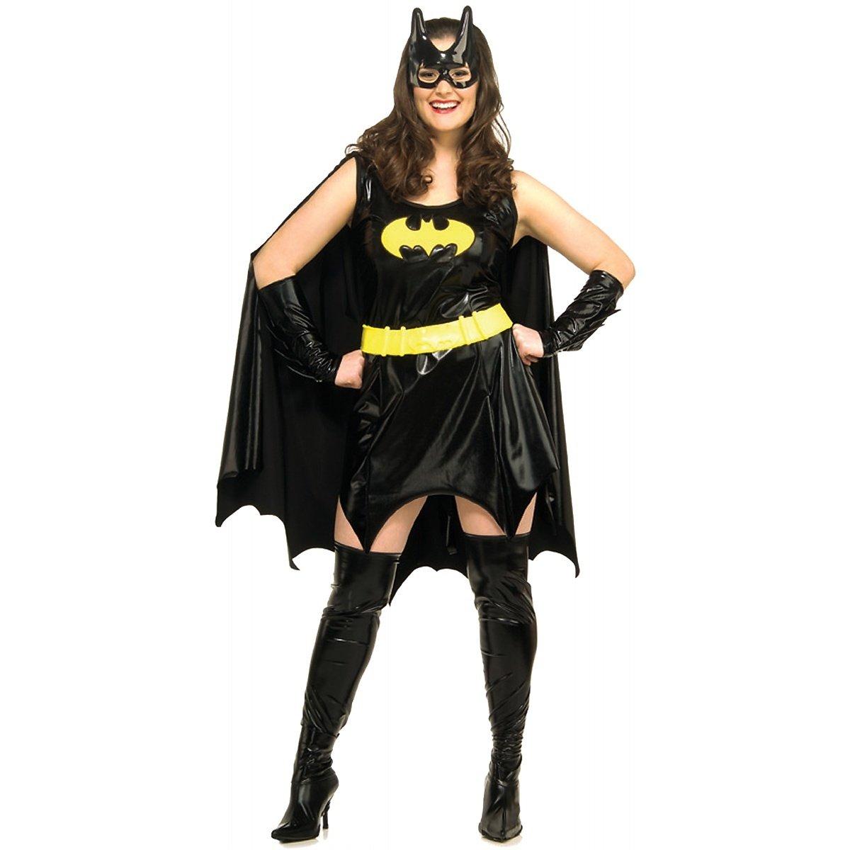 Batgirl Kostüm für Damen Gr. XL, Größe:XL