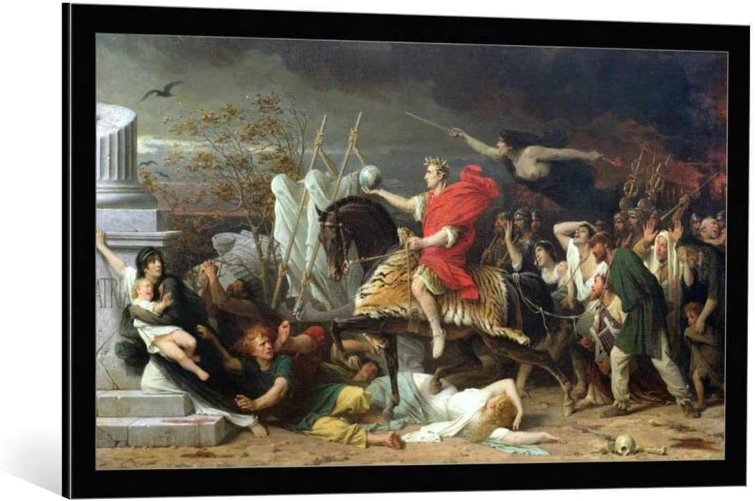 Kunst für Alle Cuadro con Marco: Adolphe Yvon Caesar 1875