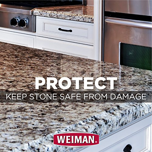 Weiman Granite Cleaner and Polish - 8 Ounce 6 Pack - For Granite Marble Soapstone Quartz Quartzite Slate Limestone Corian Laminate Tile Countertop and More by Weiman (Image #4)