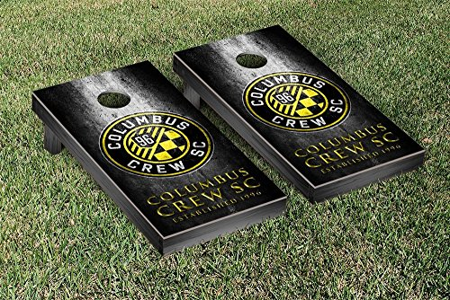 Columbus Crew MLS Soccer Regulation Cornhole Game Set Museum Version by Victory Tailgate