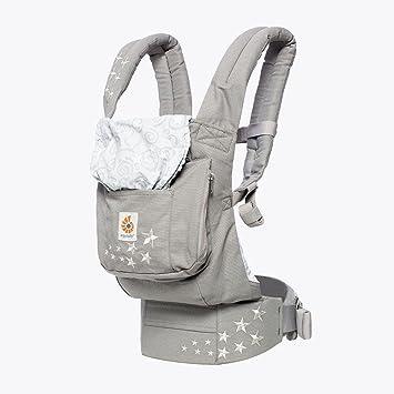 Ergobaby Original Award Winning Ergonomic Multi Position Baby Carrier With Lumbar Support Storage