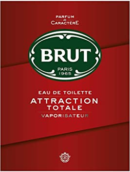 Brut Edt Spray, Attraction Totale, 100 ml Eau de Toilette at amazon