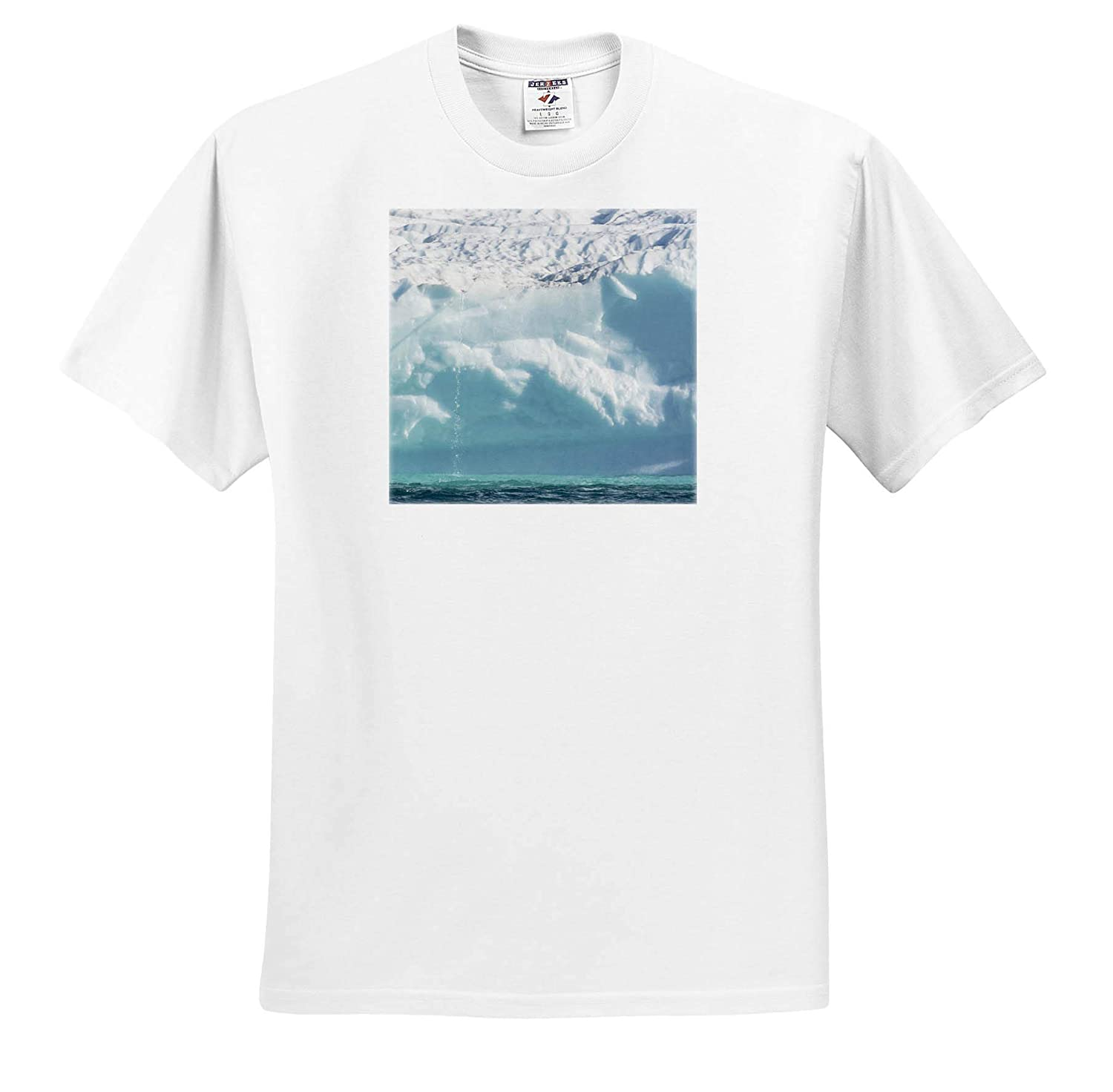 - Adult T-Shirt XL Natural Patterns ts/_313892 3dRose Danita Delimont Patterns in Icebergs in Greenland