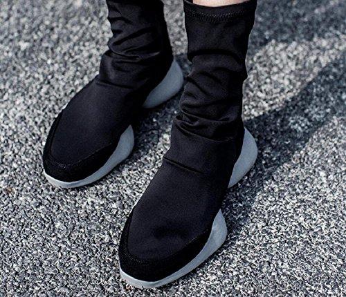 Confortable Créative Mouvement Martin Base Augmenté De D'élasticité Chaussures Des Femmes 36 Du Épaisse Wdjjjnnnv Bottes OgTqy