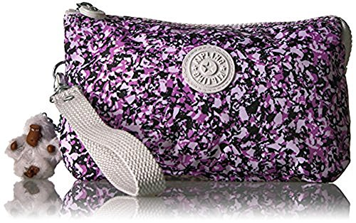Kipling Creativity Extra Large Printed Pouch, Ocean Breeze Purple