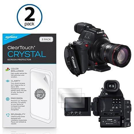 Canon EOS C100 Mark II Screen Protector, BoxWave