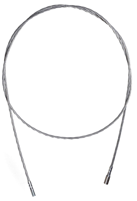 Putzstab Schubstange Flexibel 1 Meter für Kaminbesen Heizkessel Bürste