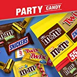 SNICKERS, M&M'S & TWIX Fun Size Halloween Chocolate Candy Variety Mix, 31.18-Ounce 55 Piece Bag
