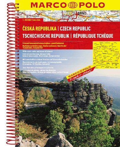 MARCO POLO Reiseatlas Tschechische Republik 1:200.000 (MARCO POLO Reiseatlanten)