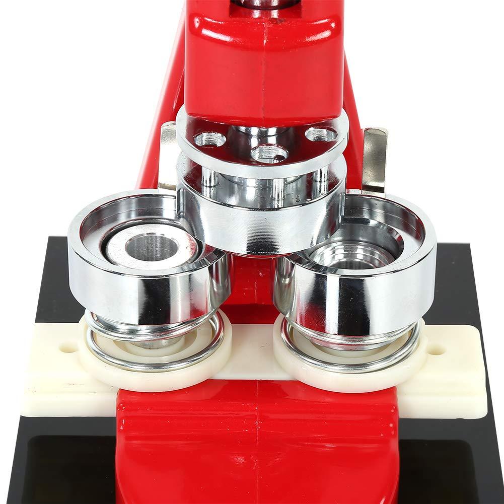 Buttonmaschine 58mm mit 1000 Kreisknopf Teile Kreisschneider Knopfmachermaschine 25mm // 32mm // 58mm Badge Maker Maschine