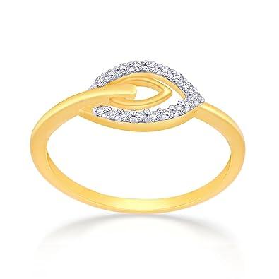 Buy Malabar Gold and Diamonds Mine 18k Yellow Gold and Diamond