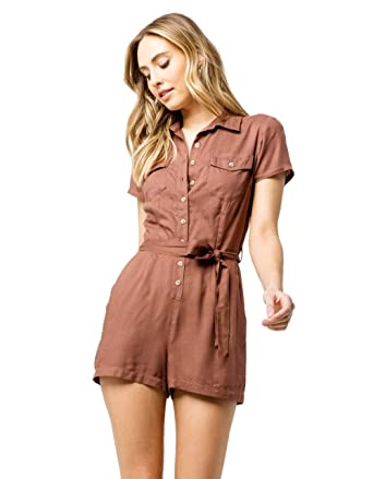 85f8b455b34 Amazon.com  Sky and Sparrow Button Front Romper