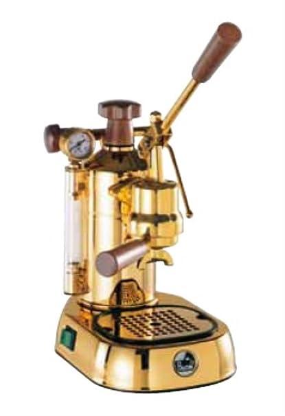 La Pavoni PPG 16 Professional Cup Espresso Machine Brass