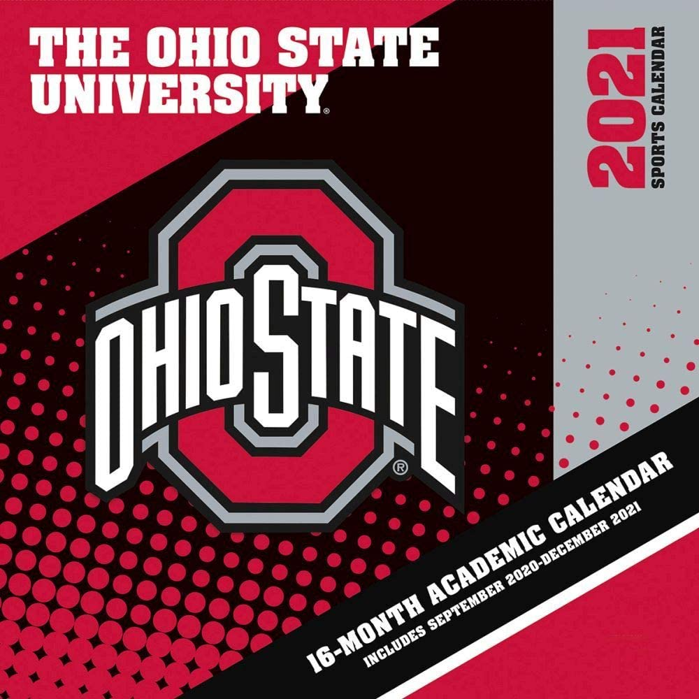 Osu 2021 Academic Calendar Amazon.: Turner Licensing, 2021 Ohio State Buckeyes Mini Wall