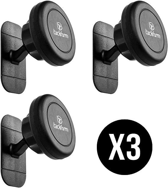 tackform 4327092446 Las Soluciones de Soporte para Teléfono Magnética Adhesiva tackform-Paquete de 3
