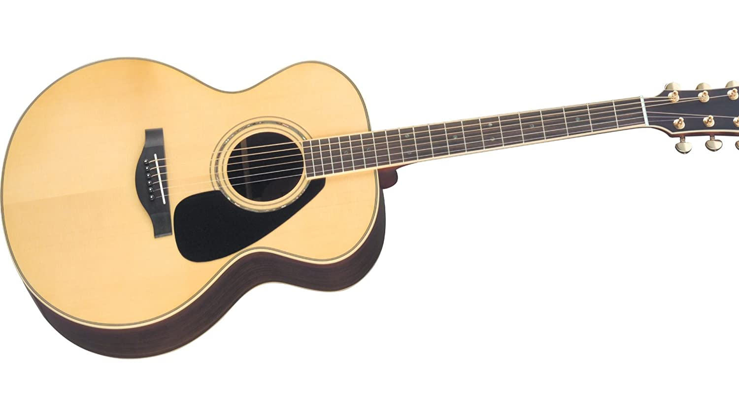 Amazon.com: Yamaha L-Series LJ16 Jumbo Acoustic-Electric Guitar with Gig Bag - Natural: Musical Instruments