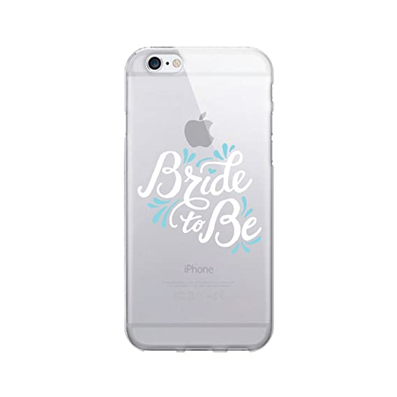 low priced 06177 f8d17 OTM Essentials Bride to Be, iPhone 7 Clear Phone Case