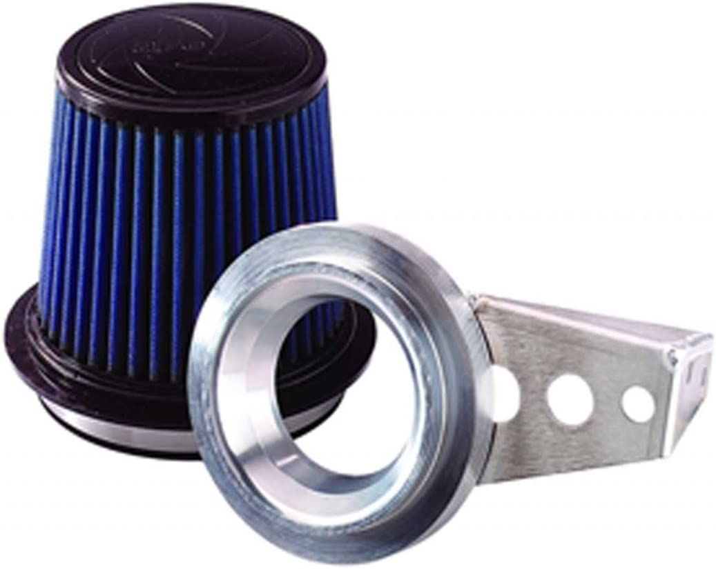 BLUE Filer For 96-01 Ford Explorer 5.0 V8 Air Intake MAF Adapter