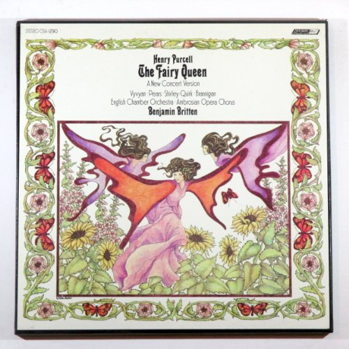 Henry Purcell: The Fairy Queen (A New Concert Version) / English Chamber Orchestra, Ambrosian Opera Chorus, Benjamin Britten