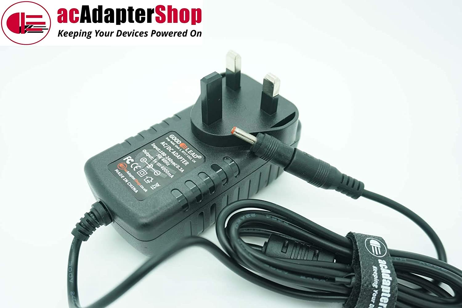 GOOD LEAD Replacement for 5.0V 3.0A AC Adapter fits Fusion 5 Lapbook T90B Laptop