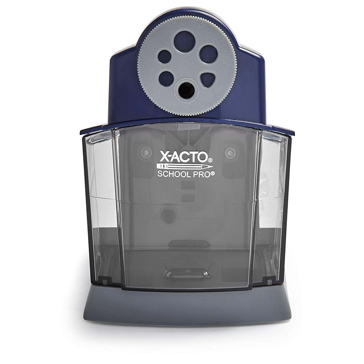 X-Acto School Pro Classroom Electric Pencil Sharpener, Blue, 1 Count (1670) by X-Acto