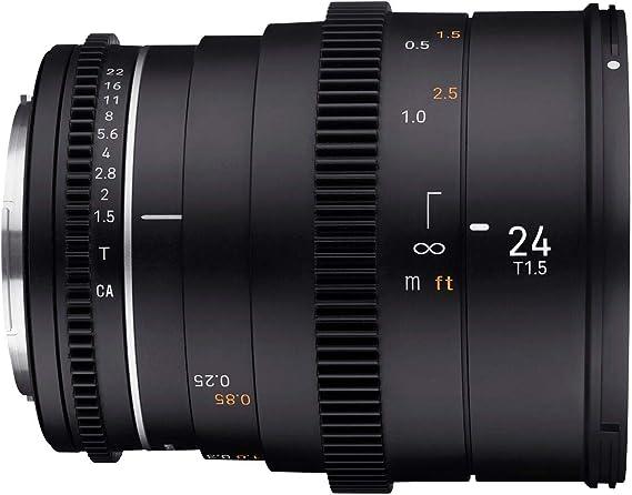 Samyang Mf 24mm T1 5 Vdslr Mk2 Canon Ef Lichtstarkes Kamera