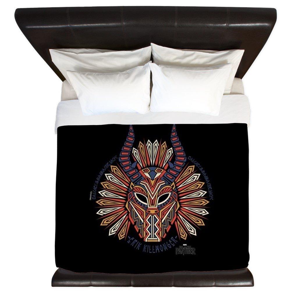 CafePress Black Panther Killmonger - King Duvet Cover, Printed Comforter Cover, Unique Bedding, Microfiber