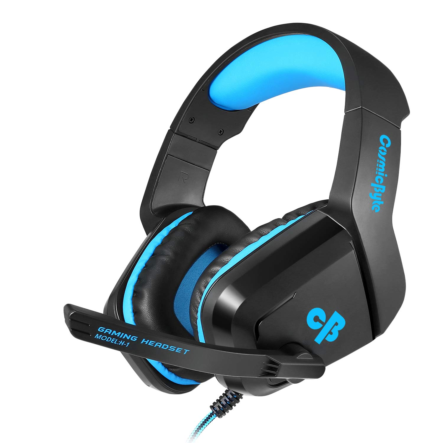Cosmic Byte H1 Gaming Headphone with Mic for PC, Laptops, Mobile, PS4, Xbox One (Blue) product image