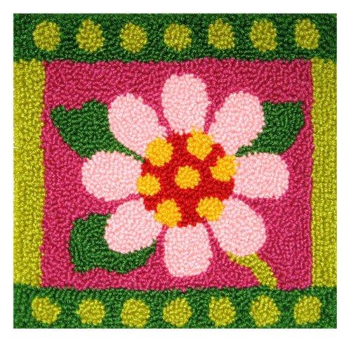 MCG Textiles Geometric Floral Pillow
