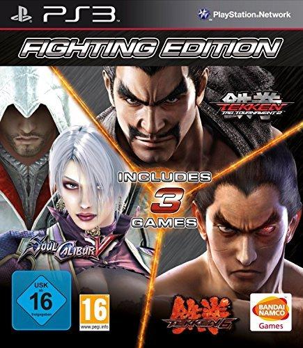 Fighting Edition: Tekken 6 & Tag Tournament 2 & Soul Calibur V [PlayStation 3, PS3] (Tekken Tag 2 Ps3)