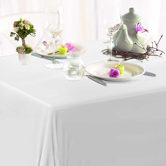 toile cire casa pura blanche au mtre tailles au choix nappe dcorative pour - Toile Ciree Pour Table De Jardin